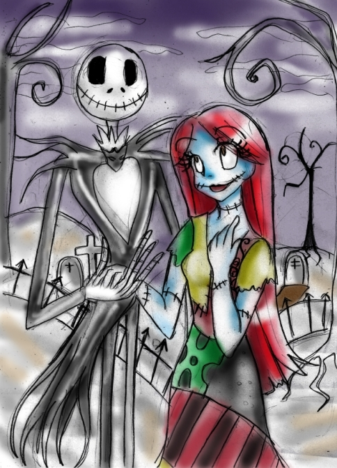 Jack and Sally images Jack and Sally wallpaper and background photos ... Nightmare Before Christmas Jack