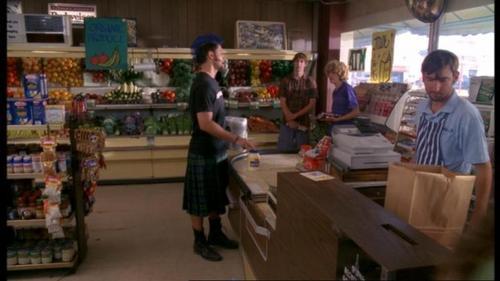 Jensen In A Kilt!