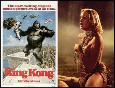 Jessica Lange And King Kong