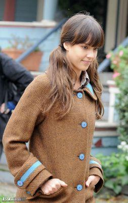Jessica- On Set