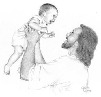 Jesus Laughing - christianity Fan Art