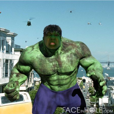 "John- ""Hulking Out"""