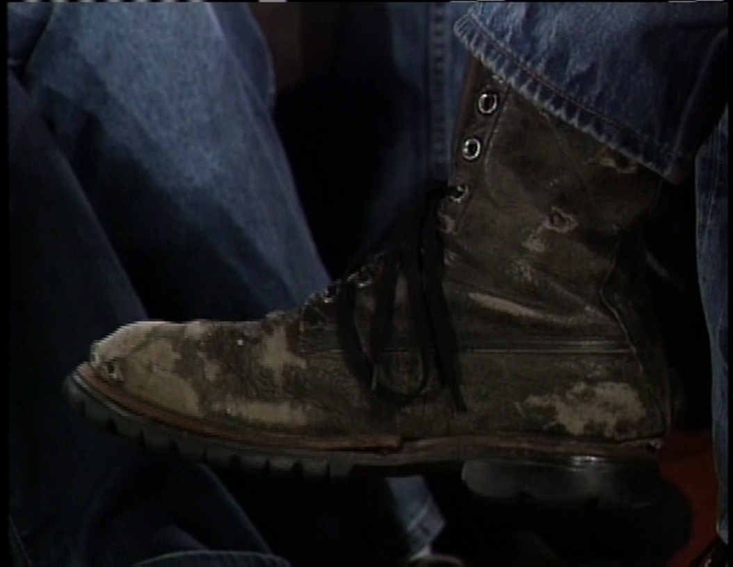 Johnny's infamous favourite boots!