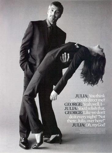 Julia and George