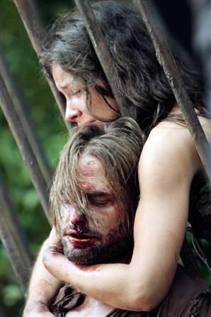 Kate and Sawyer