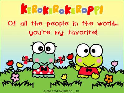 KeroKeroKeroppi E-Card