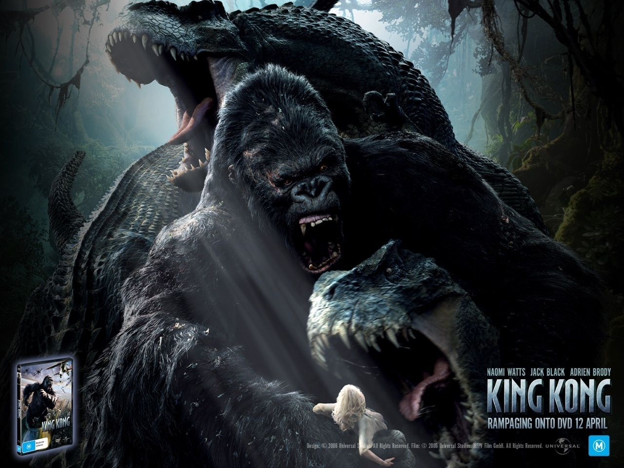 King kong images king kong 2005 hd wallpaper and - King kong 2005 hd wallpapers ...