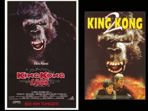 King Kong Lives Movie Poster