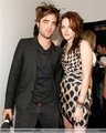 Kristen & Rob at the filming for MTV show; 'Spoilers'! - twilight-series photo
