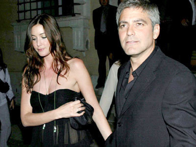 Lisa and George Clooney