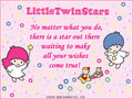 Little Twin Stars E-Card