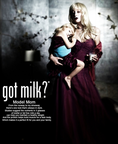 Lluvy  - Got Milk Ad - americas-next-top-model Fan Art