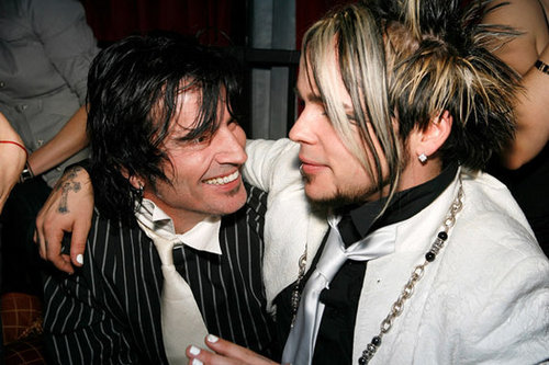 Lukas Rossi & Tommy Lee
