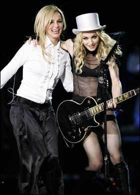 madonna And Britney Touring