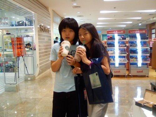 Me (Wearing Black) & My Friend