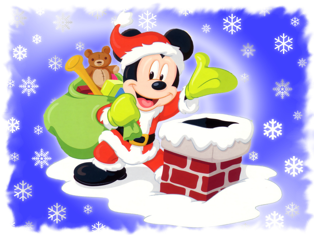 Mickey Mouse Christmas Christmas Wallpaper 2735419 Fanpop