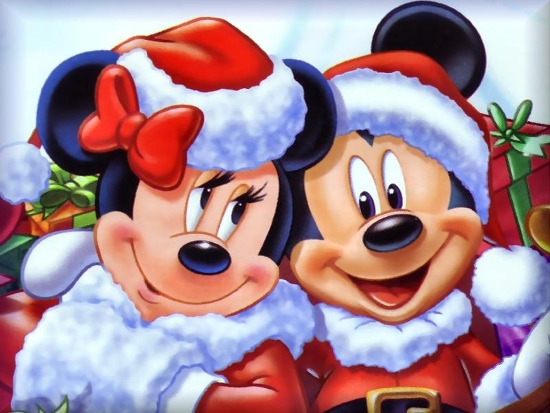 Mickey maus Weihnachten