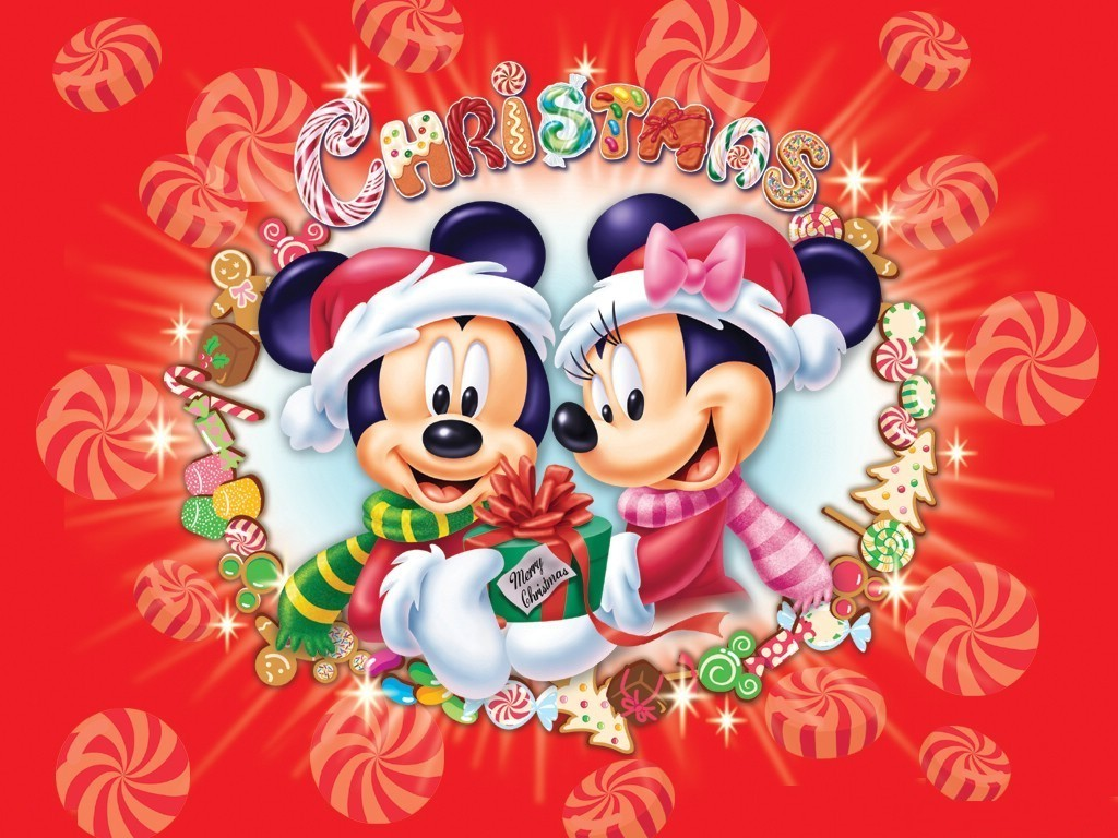 Mickey Mouse Christmas  Christmas Wallpaper 2735434  Fanpop