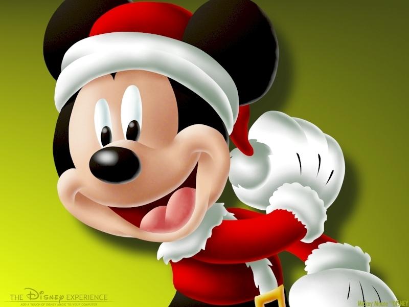 Mickey Mouse Christmas - Christmas Wallpaper (2735436 ...