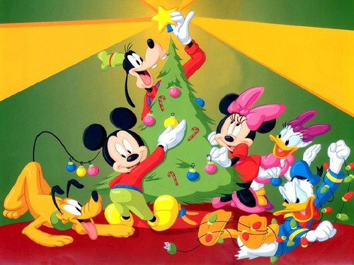 Mickey mouse pasko