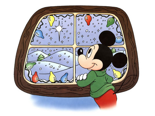 Mickey chuột giáng sinh