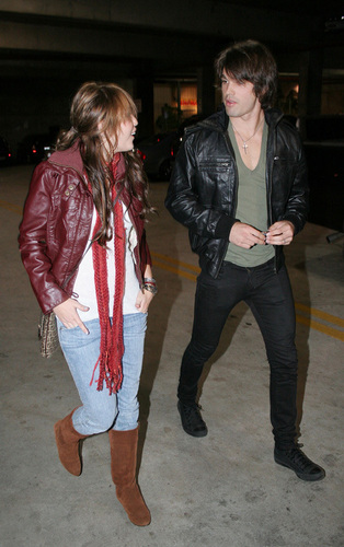 Miley and Justin Date Night