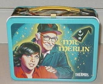 Mr. Merlin Vintage 1982 Lunch Box