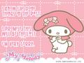 My Melody E-Card