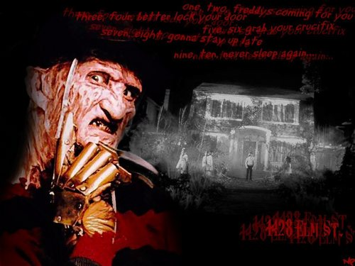 Nightmare On Elm Street w&#39;paper - horror-movies Wallpaper