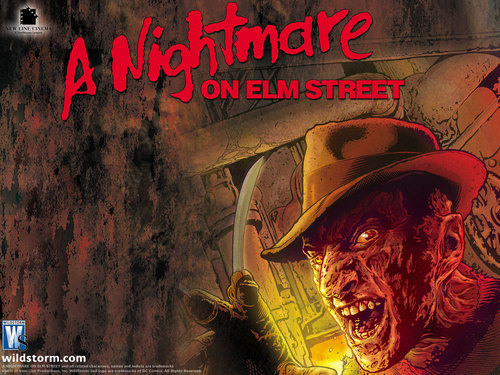 Nightmare On Elm Street w'paper