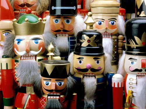 Christmas wallpaper entitled Nutcrackers