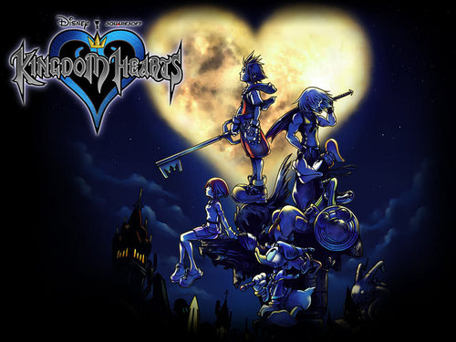 Official Kingdom Hearts fond d'écran