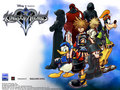 Official Kingdom Hearts kertas dinding