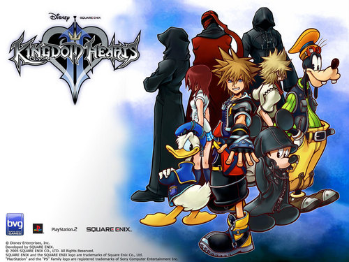 Kingdom Hearts kertas dinding titled Official Kingdom Hearts kertas dinding