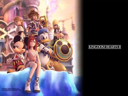 Kingdom Hearts پیپر وال entitled Official Kingdom Hearts پیپر وال