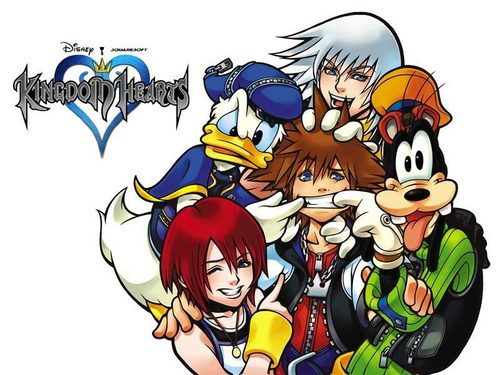 Official Kingdom Hearts پیپر وال