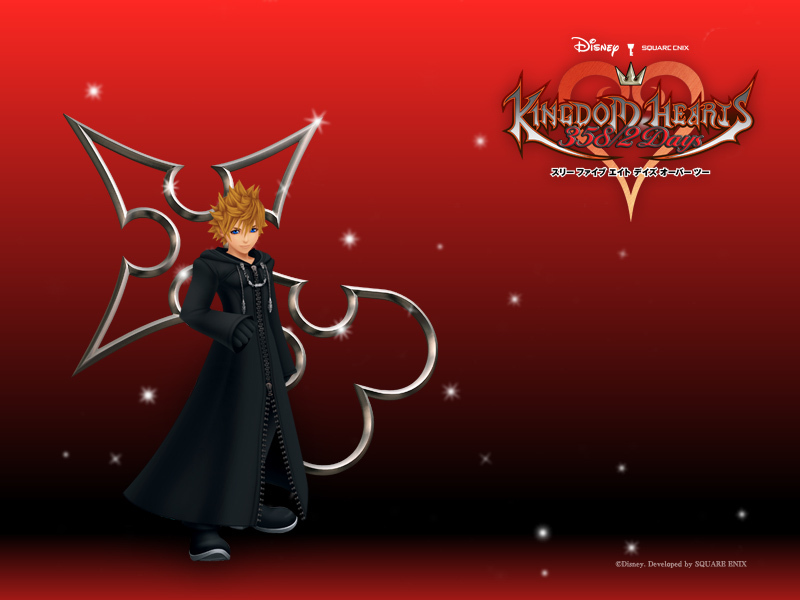 Official Kingdom Hearts wallpaper