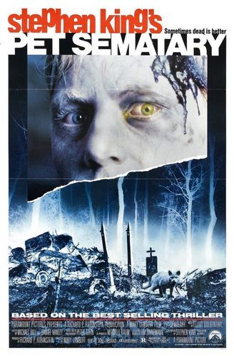 Filem Seram kertas dinding entitled Pet Sematary original film poster
