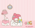 Picture Books - my-melody wallpaper