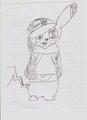 皮卡丘 Ash