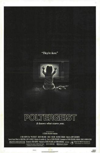 Poltergeist original film poster