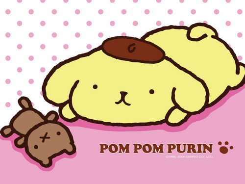 Sanrio wallpaper called Pom Pom Purin