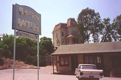 Psycho ... Book Into The Motel Anytime!