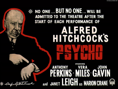 Psycho: No Admittance Once The Movie Starts...