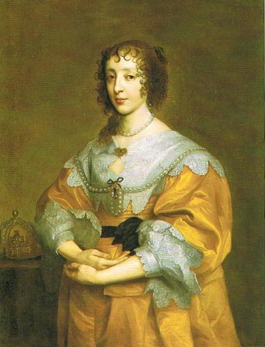 Queen Consort Henrietta Maria, Wife of Charles I of England