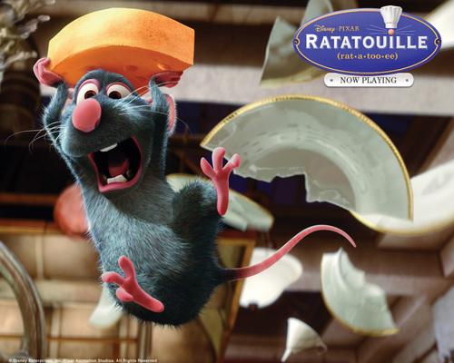 Ratatouille Broken Plate