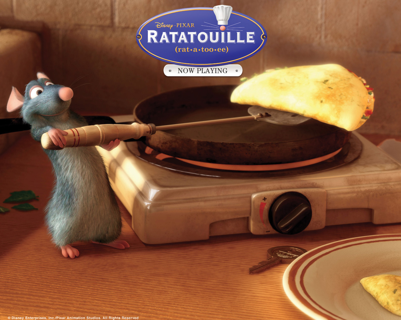 Ratatouille WOOT - ratatouille Wallpaper