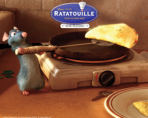ratatouille WOOT