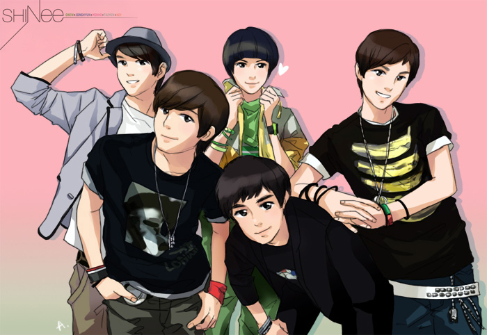 SHINee Art - Shinee Fan Art (2775540) - Fanpop