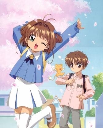 Sakura Kero & Syaoran